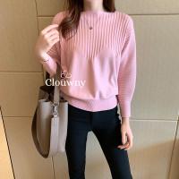 CLOUWNY - Mozart Sabrina Top Premium knitt Atasan Rajut Wanita Fit tol