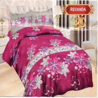 Bedcover Bonita Rumbai King 180 x 200 cm - Revanda