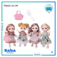 Mainan Boneka Barbie Korea Princess Cantik 12 Sendi Plus Aksesoris