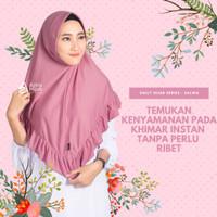 jilbab khimar instan syari/kerudung instan by Azkia hijab,size S