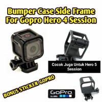 Frame Case Gopro Hero 4 Session Dan Hero 5 Session Bumper Casing