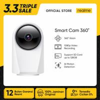 realme Smart Cam 360° Vision, 1080p Video Record, AI Motion Detection