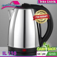 Idealife IL-110 Ketel Listrik Teko Elektrik Pemanas Masak Air Kettle