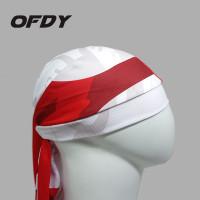 Topi sepeda ikat kepala bandana X INDONESIA Caps bicycle roadbike MTB