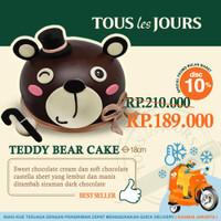 TOUS les JOURS Tedy Bear Cake / Birthday Cake