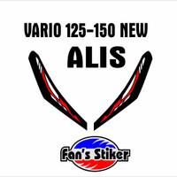 Cutting stiker ALIS lamp honda vario 125 150 new bahan oracal terjamin