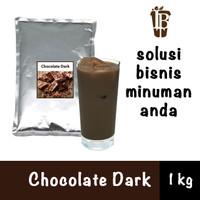 Bahan Minuman Bubuk Coklat Chocolate Dark Bubble Tea Drink Powder
