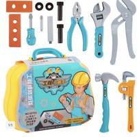 Mainan Alat Tukang Bangunan / TOOL WORK SHOP KOPER QY75