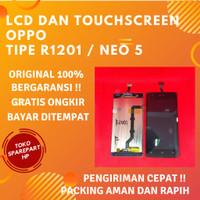 Layar Lcd Ori Hp OPPO Neo 5 / R1201 Fullset Lcd dan Touchscreen ori