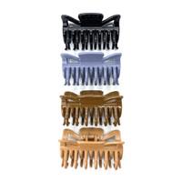 W! Accessories Jepit Rambut Jedai Persegi Premium Earth (pc) 62360600