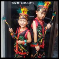 Best Seller Dayak SD Kls1-3 Lengkap   Baju Adat Kostum Anak Karnaval