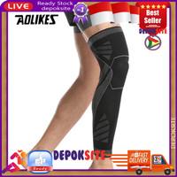 AOLIKES 7060 Knee Pad Legging Support Leg Sleeve Wrap Deker Betis Kaki