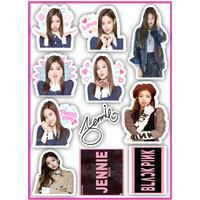 Stiker Blackpink BTS Fan kpop blink backpink Lisa Jennie Rose Jisoo