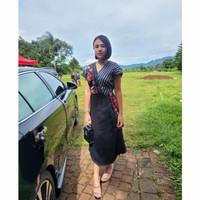 Baju wanita tunic Andin Dress Amanda Manopo Ikatan cinta Terbaru Hits