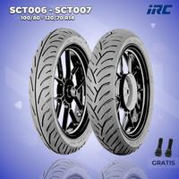 Paket Ban Motor HONDA PCX // IRC SCT-006 100/80-IRC SCT-007 120/70 R14