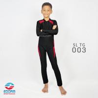 Baju Renang Anak Lengan Panjang Laki Laki Size Sd 7-12 tahun