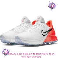 Sepatu Golf Nike Air Zoom Infinite Tour Original WHT RED