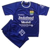 Baju bola persib anak 10-15 tahun