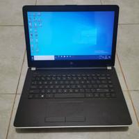 Laptop HP 14 Bw500AU Gen 7th Amd A9-9120 Vga Amd Radeon R3 Mulus