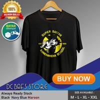 Baju Kaos Oblong Tshirt Terbaru Premium Anime Dragon Ball Son Goku 01 - Merah, M