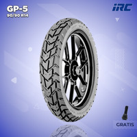 Ban Motor Matic // IRC GP5 90/90 Ring 14 Tubeless