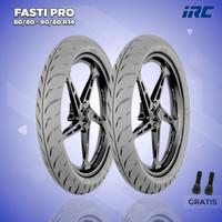 Paket Ban Motor Matic RACING COMPOUND // IRC FASTI PRO 80/80-90/80 R14