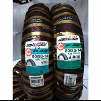 BAN LUAR CORSA PLATINUM R46 80/80-14, 90/80-14 , RING 14 TUBELESS 2pc