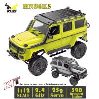 MN86KS MN 86KS Mercedes G500 1/12 RC Crawler KIT 390 4WD with Motor