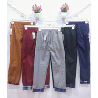 Baggy Pants Celana Stik Balik Wanita
