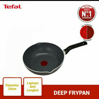Tefal Natura Deep Fry Pan Marble 24cm