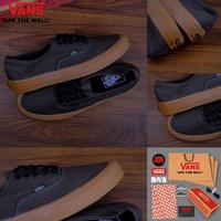 Sepatu Vans Authentic Grey Gum Import Premium BNIB China