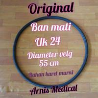 Ban mati kursi roda uk 24 × 1 3/8 original