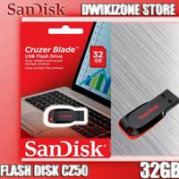 PALING LAKU! FLASH DISK 32GB SANDISK CRUZER BLADE CZ50 32 GB FLASHDISK