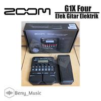 ZOOM G1X Four Efek Gitar Garansi Original