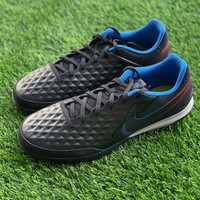 Sepatu futsal nike original Legend 8 Academy IC black blue red 2021