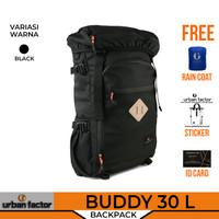 Tas Ransel Pria Travel Backpack Water Resistan URBAN FACTOR BUDDY