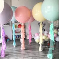 Balon Latex Macaron Jumbo 36 Inch / Balon Latex Jumbo 36 Inch