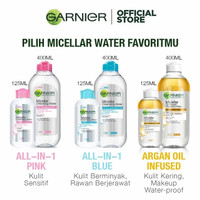 Garnier Micellar Cleansing Water Pink / Blue / BiPhase Oil Infused