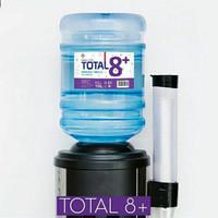 Galon Total 8+ Isi 19 Liter Alkaline Water pH 8 Air Alkali Bandung