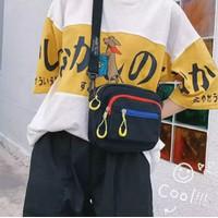 promo Tas Slempang Kanvas Mini Wanita Korea Murah / Sling Bag Pria