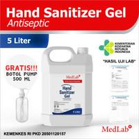 Hand sanitizer GEL 5 liter MedLab antiseptik new Formula