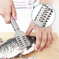 Termurah Alat Pembersih Sisik Ikan Stainless Steel Pengupas Fish Scale