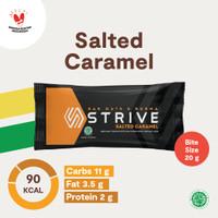 Strive Bite Size rasa Salted Caramel 1 Box isi 5pcs