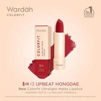 Wardah Colorfit Ultralight Matte Lipstick Korean Eddition   Lipstick