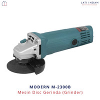 MESIN DISC GERINDA MODERN M-2300B | ANGLE GRINDER | GRENDO GRINDA