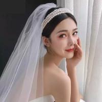Evalina headband pearl mutiara aksesoris rambut bridal