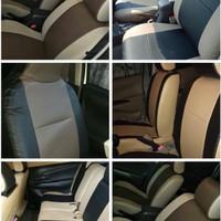 Sarung Jok Mobil Honda Jazz Kulit Syntetic Full 2 Baris Termurah