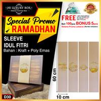 Sleeve Kue|Paper Belt lebaran|Sleeve Kotak Kue|Sleeve Idul fitri|D30