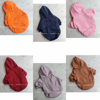 (B19) Baju Anjing kucing / Hoodie anjing / Pet Dog Jacket Pink Ungu