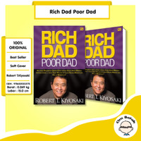 Rich Dad Poor Dad . Robert T Kiyosaki Motivasi Best Seller